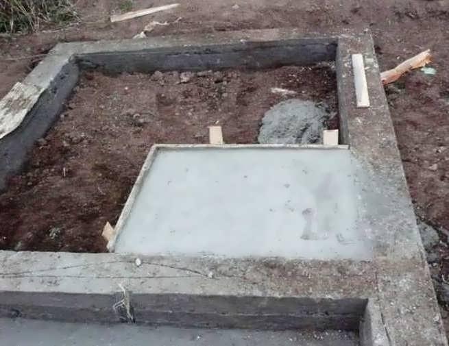 Площадка под печь