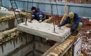 Как уложить плиты перекрытия на фундамент